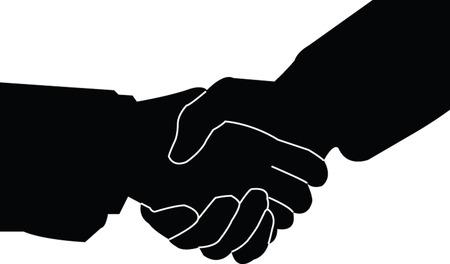 handshake 2 - vector Vector