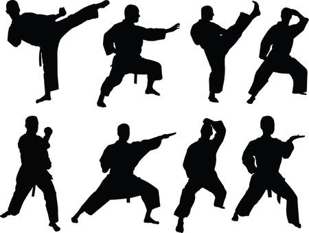 karate collection 2 - vector Vector