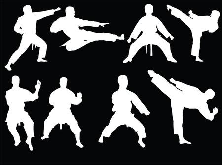 karate collection 3 - vector Vector