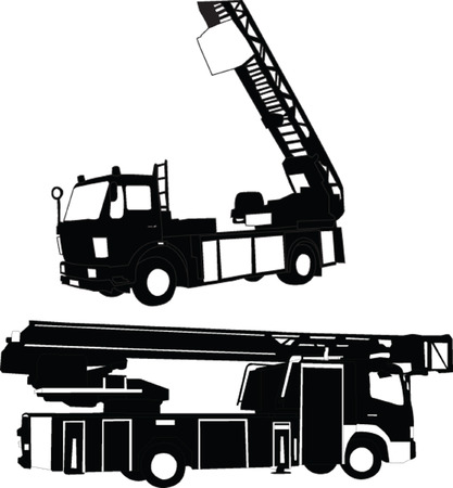 firetruck - vector Stock Vector - 5247636