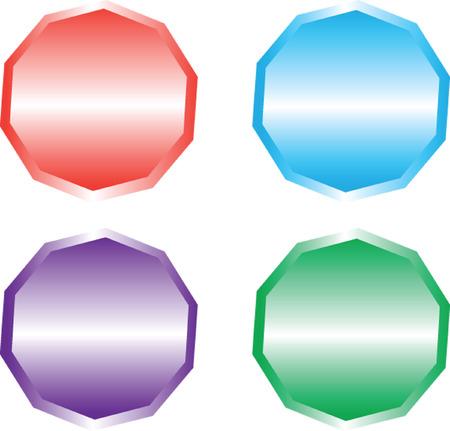 buttons - vector Vector