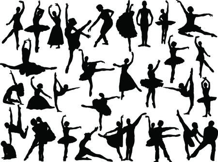 big ballet collection  Vector