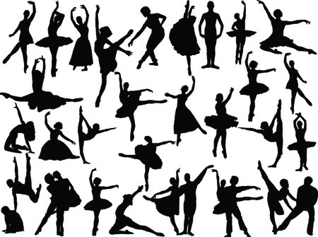 ballet tutu:  big ballet collection  Illustration