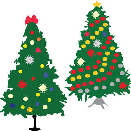 christmas tree - vector Stock Vector - 6128518