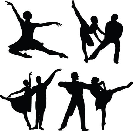 ballet collection Stock Vector - 8009440