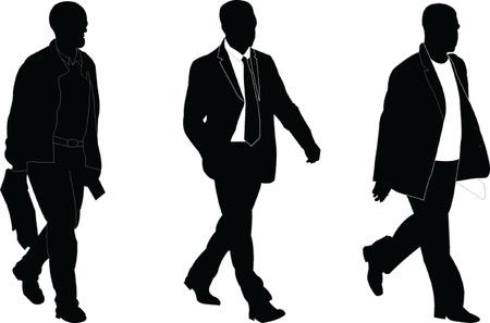business men - vector Stock Vector - 8009415
