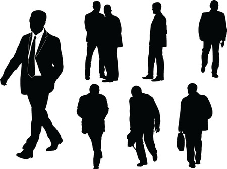 businessmen Stock Vector - 8009427