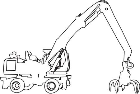 loader - vector Stock Vector - 8119146