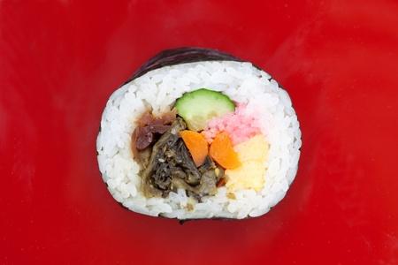egg roll: Sushi roll