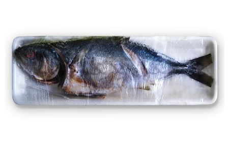 rotten: Rotten fish on the resort after the white Stock Photo