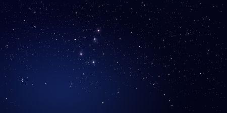 night sky: Stars at night Stock Photo