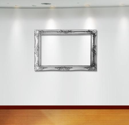 Frame in white room  Stock Photo - 9670642