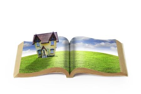 Open book Stock Photo - 9670641