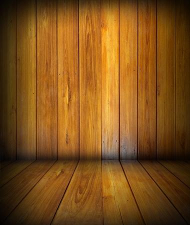 floor level: wooden planks interior  Stock Photo