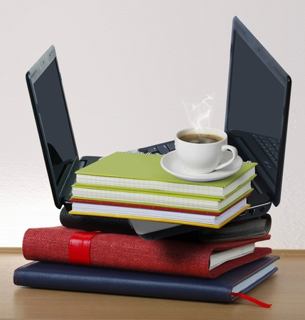 Laptop and notebooks Stock Photo - 9814902