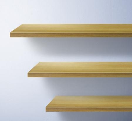 shelf for exhibit Stock Photo - 9814821