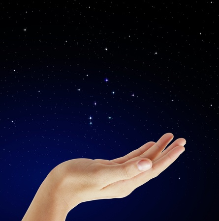 Hands on star  photo