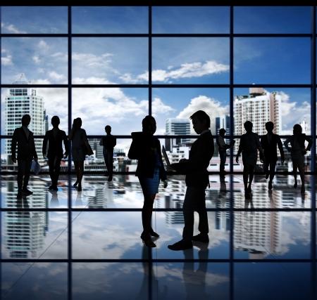 businesses: business people team
