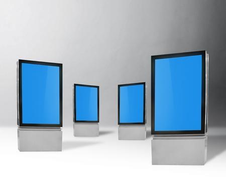 blank vertical billboards Stock Photo - 9997691