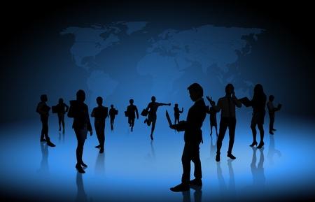 workforce: business people team