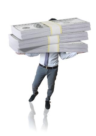 millonario: Negocios y d�lares Foto de archivo