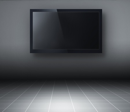 lcd tv: 3d TV in the room