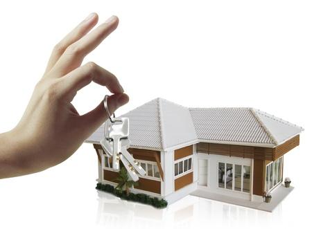 House and the keys  photo