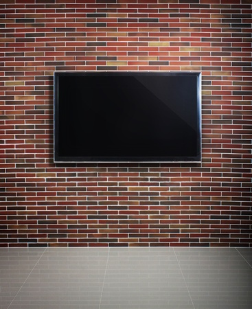 3d TV in the  room  Stock Photo - 10553648
