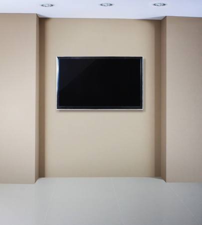 3d TV in the  room  Stock Photo - 10553611
