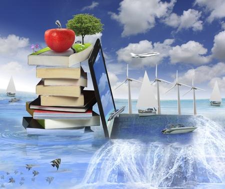 učebnice: Knihy s notebookem Reklamní fotografie