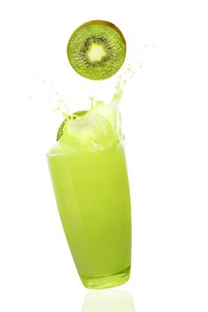 fresh kiwi juice  photo