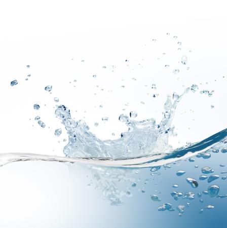 air bubbles: water splash  Stock Photo