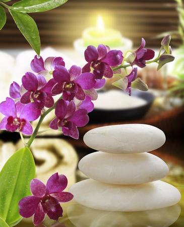 spa candle: thai,Spa