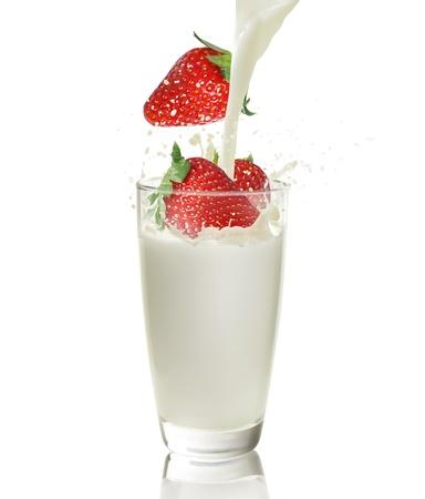 Strawberry juice  photo