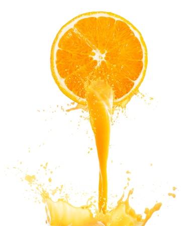 fruta tropical: zumo de naranja