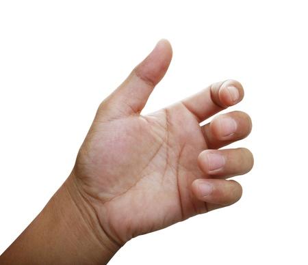 interdigital: Hand of a caucasian female to hold card, mobile