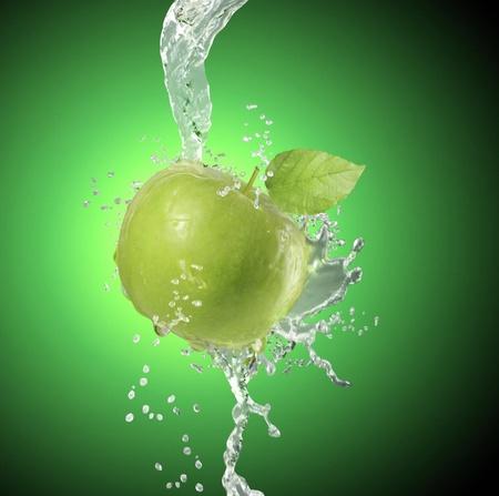 deeply: Apple falls deeply under water