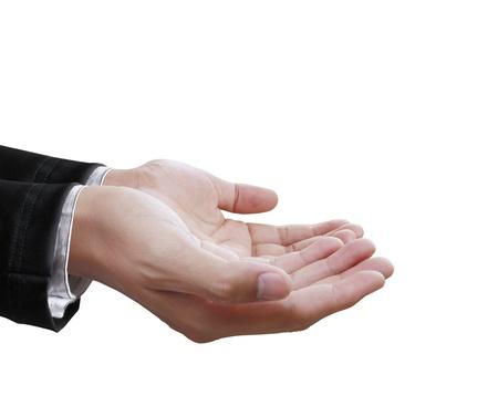 Empty hand  photo
