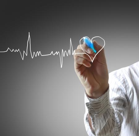 tachycardia: Medicine, Hand drawing
