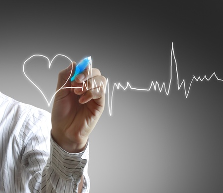 cardiograph: Medicine, Hand drawing