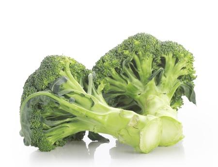 broccolli: broccoli on white background  Stock Photo