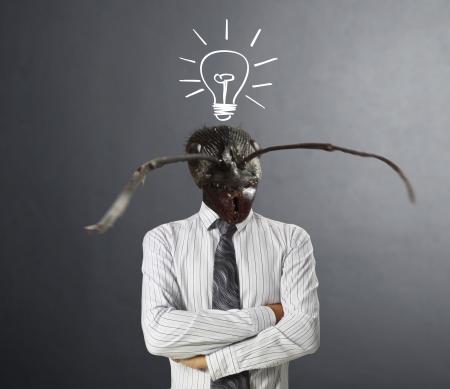 agitation: businessmen, Ideas Head ants