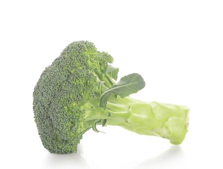 broccolli: broccoli isolated on white background  Stock Photo