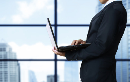 tablet computer isolated in a hand on,show graph photo