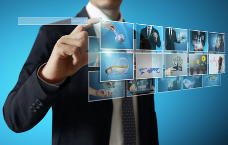 businessmen and Reaching images streaming, digital photo album photo