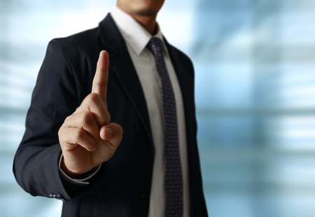 hand symbol pointing up touching