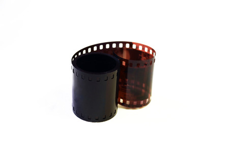 exposed: Exposed film roll
