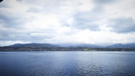Messina, view of city