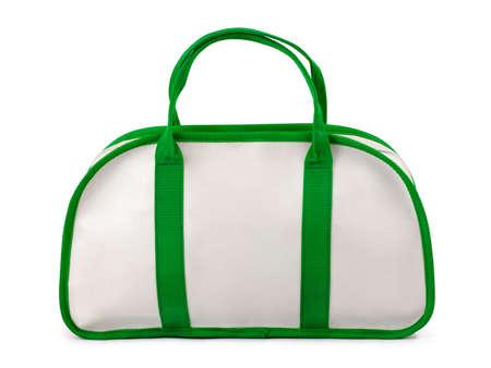 Sport bag isolated on white background photo