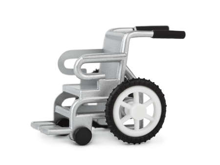 Toy wheelchair isolated on white background Stock Photo - 5164625